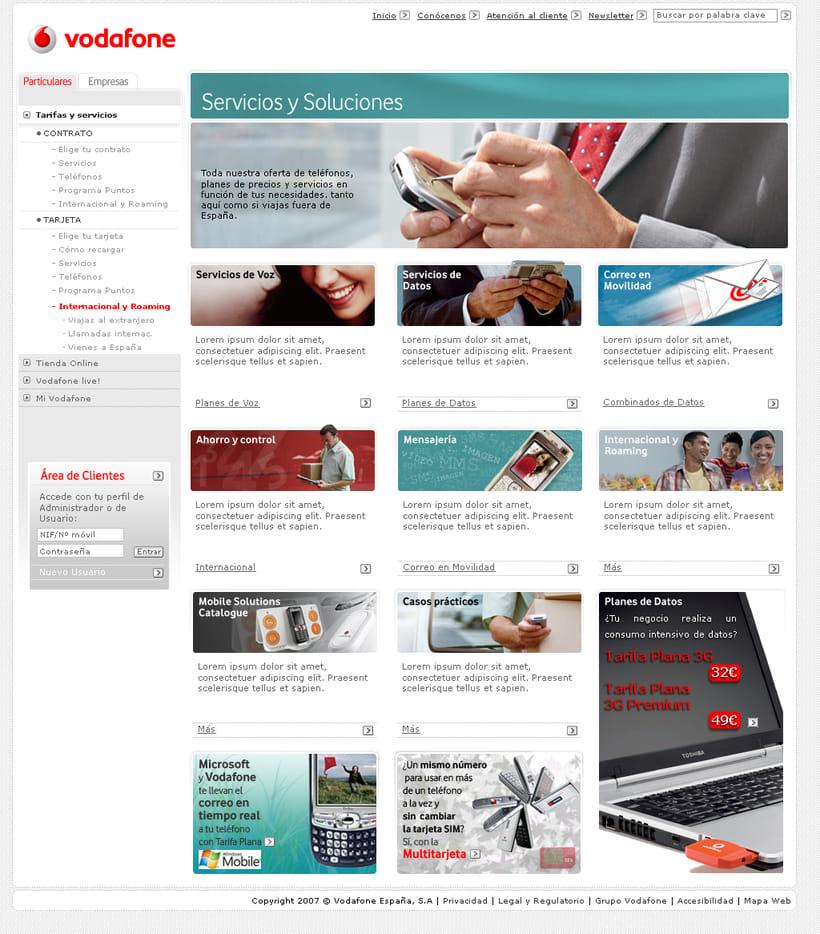 Vodafone España (nuevo Look & Feel) 1