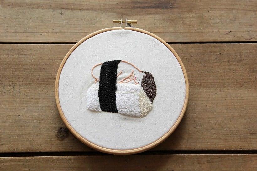 Mujer Sushi 1