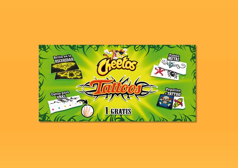 Cheetos Tattoos 3