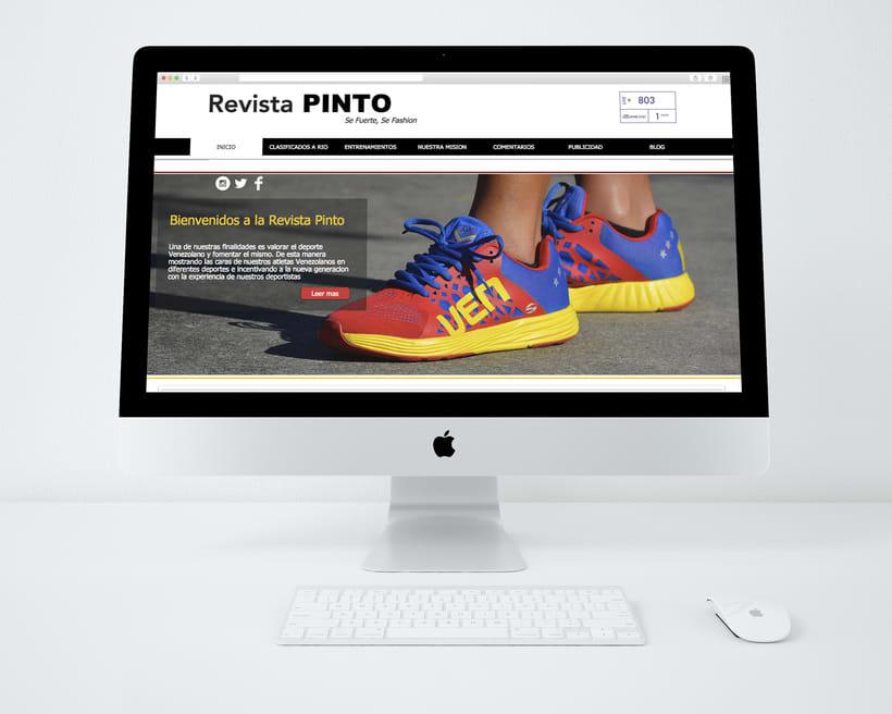 Pagina web para la revista Pinto 0