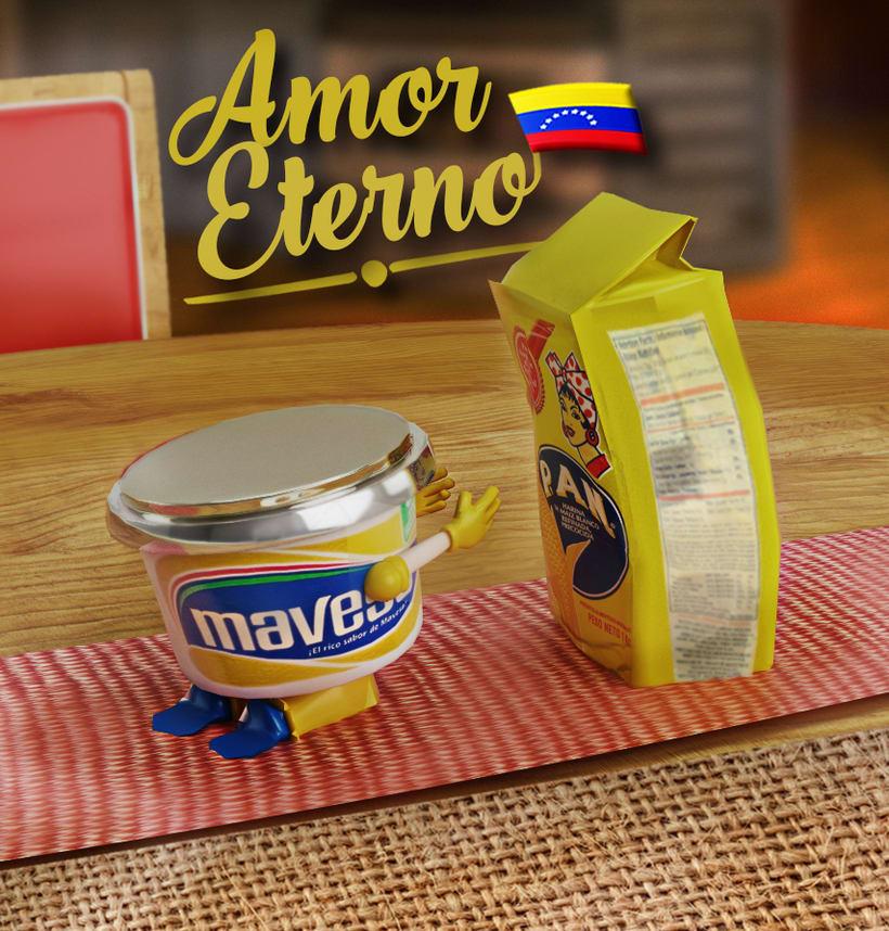 Harina y Mantequilla un amor Venezolano 0