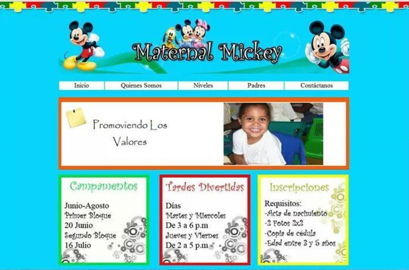 Página Web Escolar -1