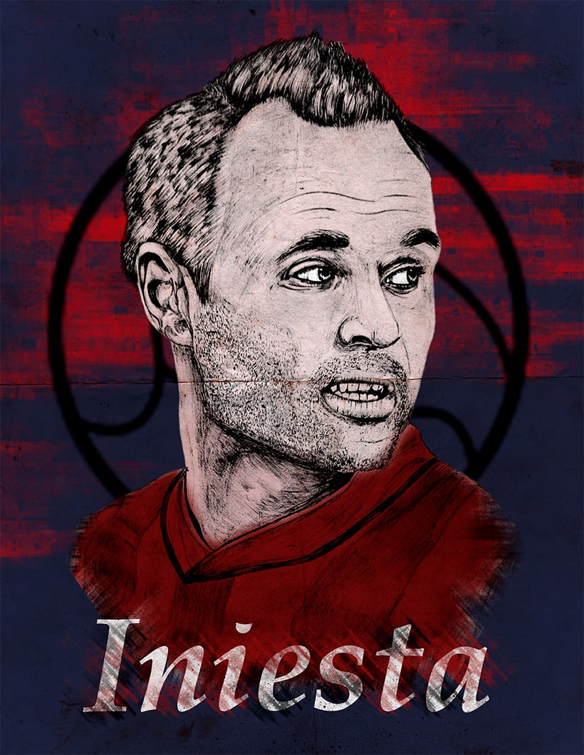 Andres Iniesta 1