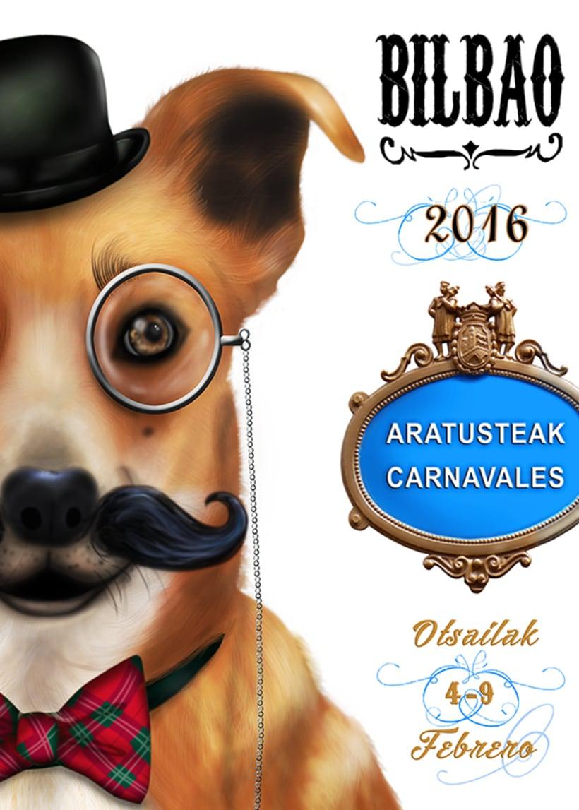 Cartel carnavales de Bilbao -1