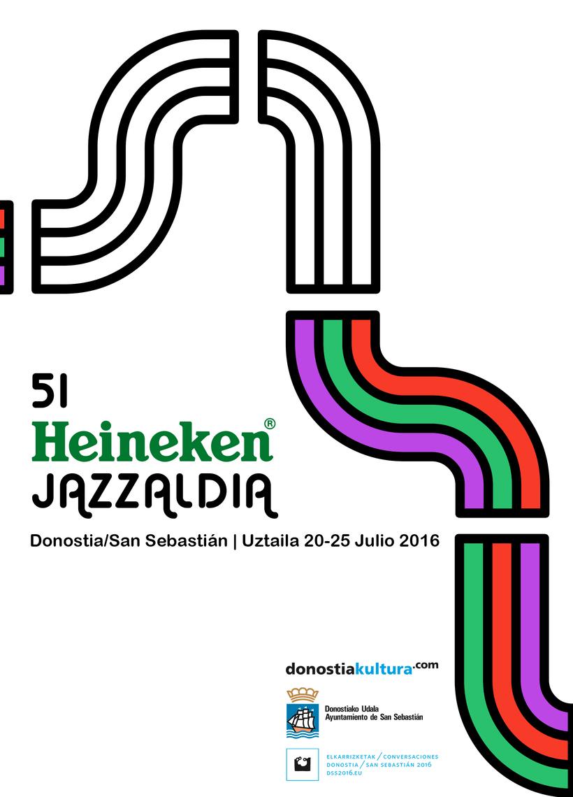 VIII Concurso de Carteles 51 Heineken Jazzaldia 2