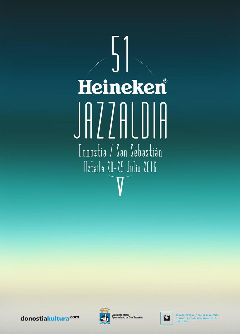 VIII Concurso de Carteles 51 Heineken Jazzaldia 3