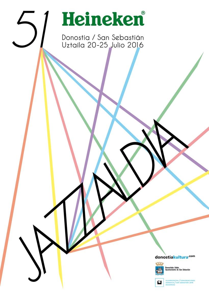VIII Concurso de Carteles 51 Heineken Jazzaldia 4