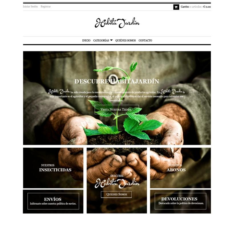 Diseño Web ::: HabitaJardín -1