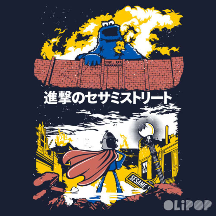Attack on Sesame Street -1