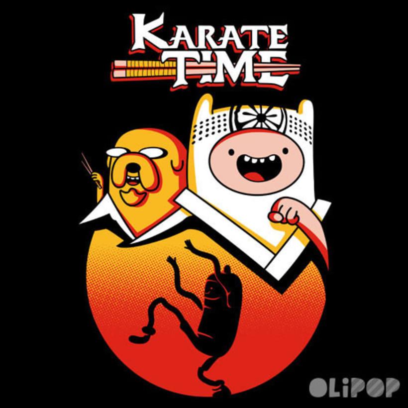 Karate Time -1