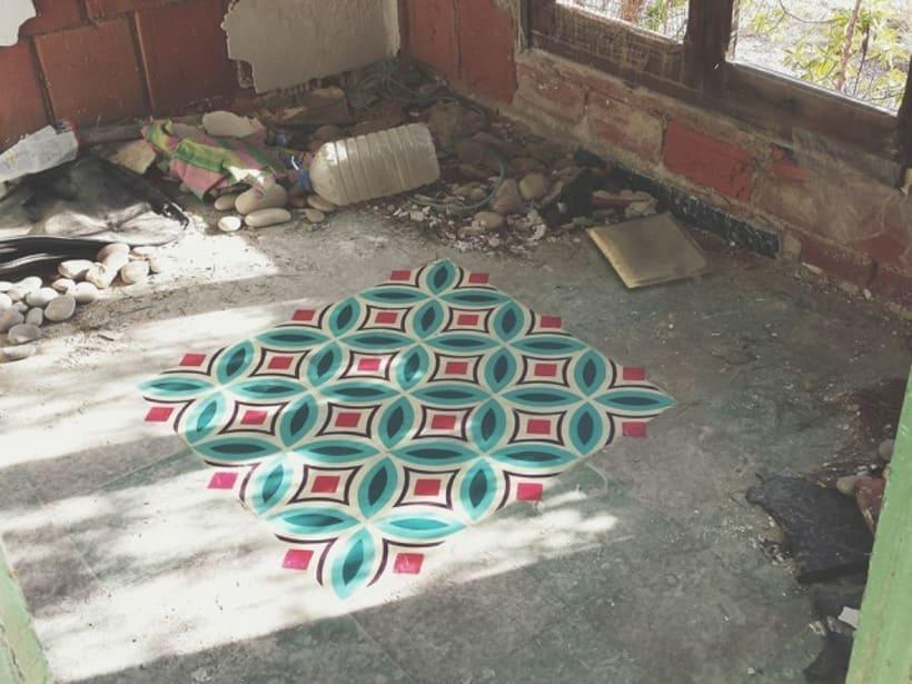 Como se hacen los mosaicos 6