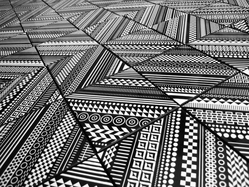 Como se hacen los mosaicos 12