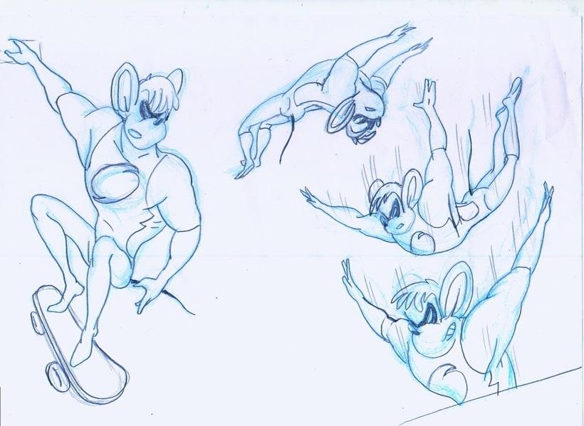 Speedy superhero mouse 1