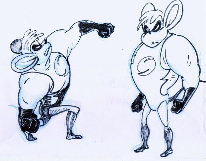 Speedy superhero mouse 6
