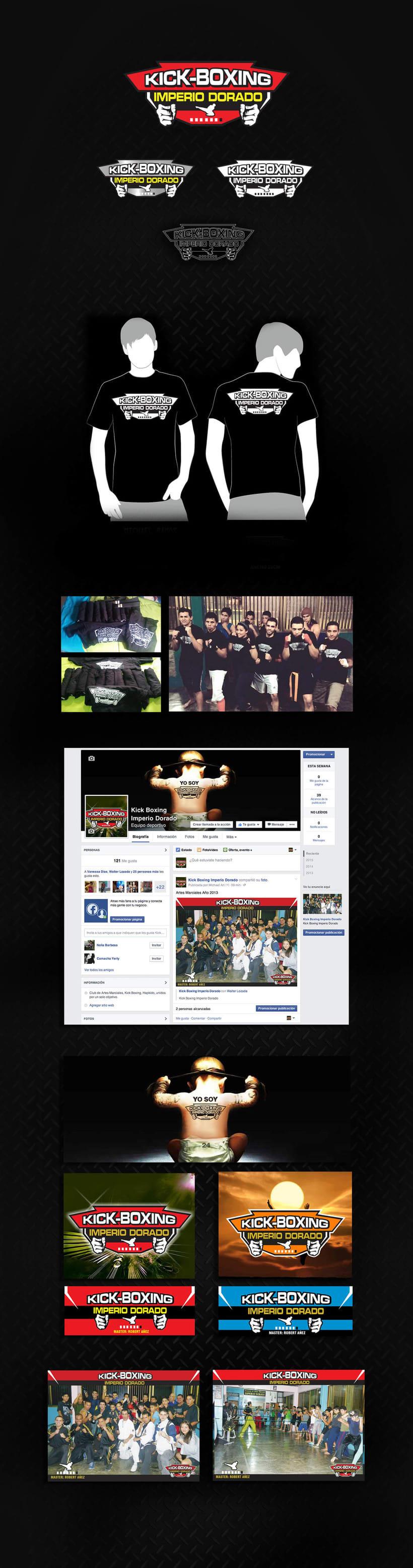 Artes Marciales Kick Boxing Imperio Dorado 1