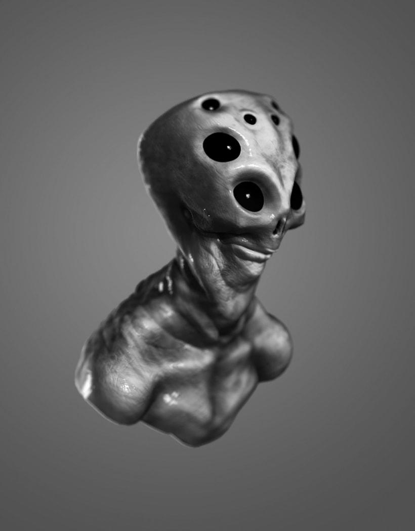 Modelado de personajes en 3D.  2