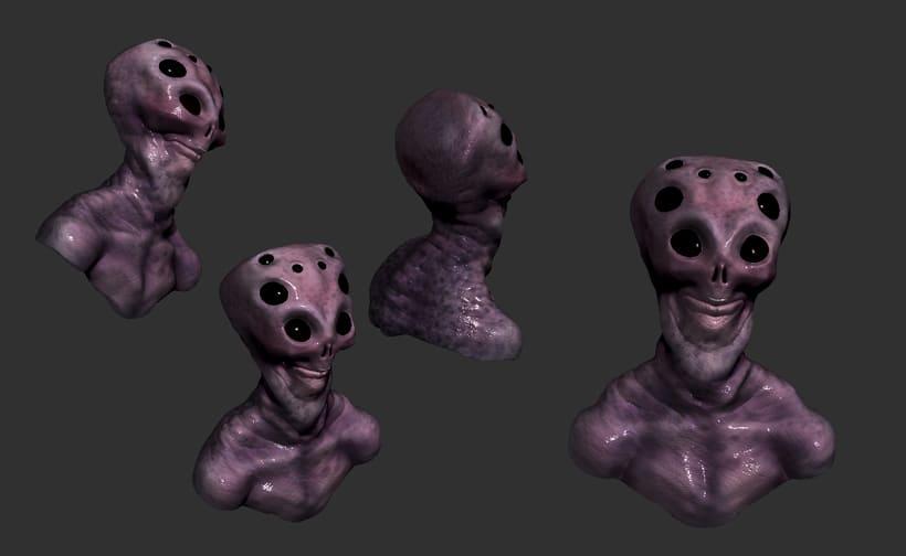 Modelado de personajes en 3D.  9