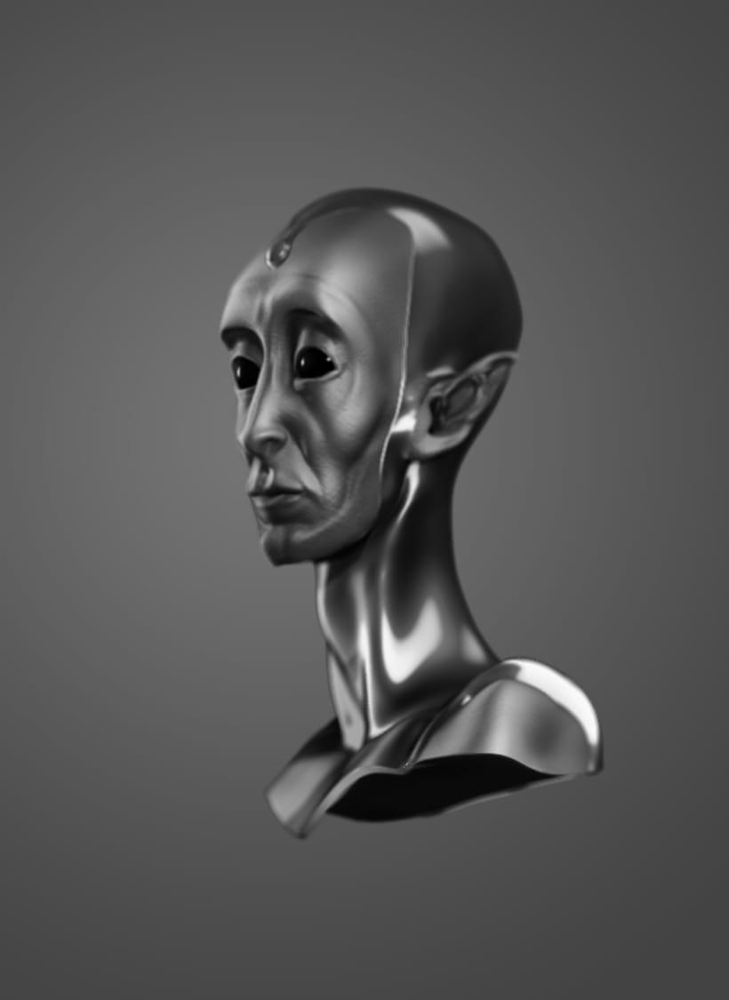 Modelado de personajes en 3D.  1