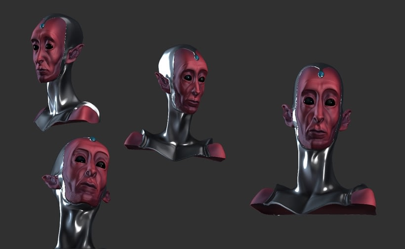 Modelado de personajes en 3D.  7