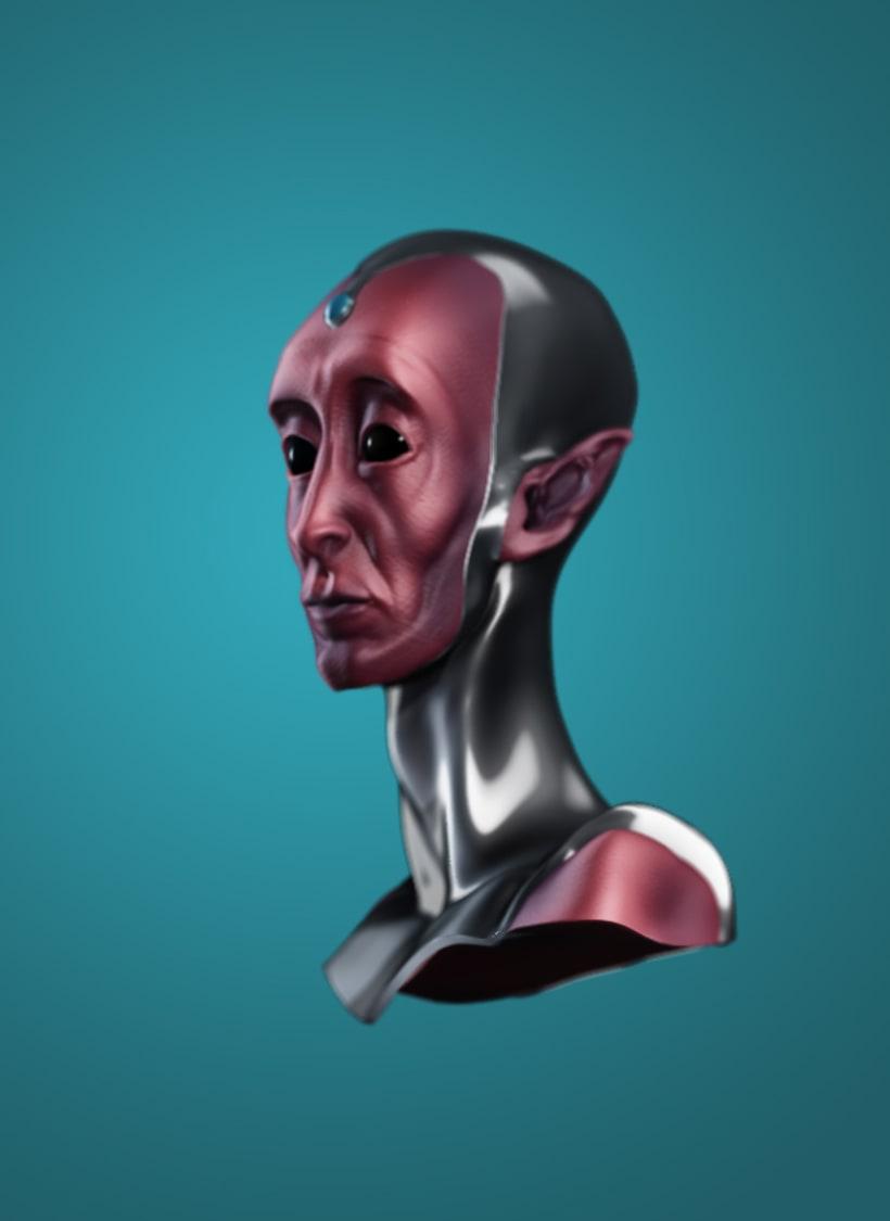 Modelado de personajes en 3D.  4