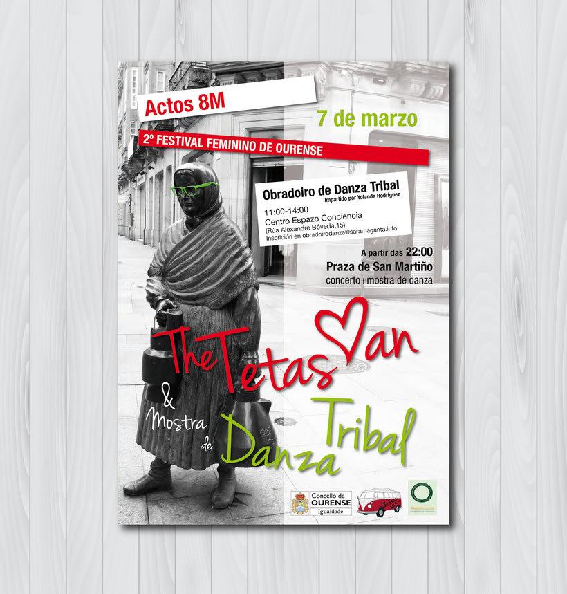 2º Festival feminino de Ourense 0