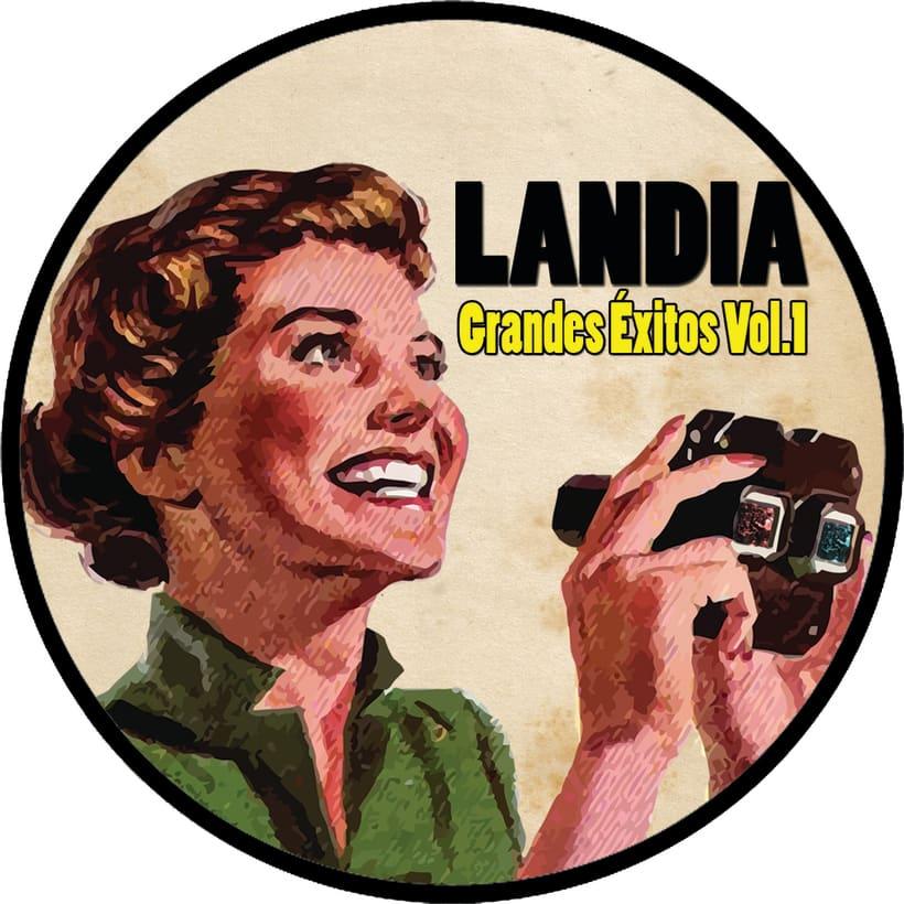 Un disco doble para debutar con Landia, el nuevo proyecto. 0