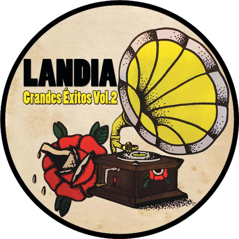 Un disco doble para debutar con Landia, el nuevo proyecto. 1