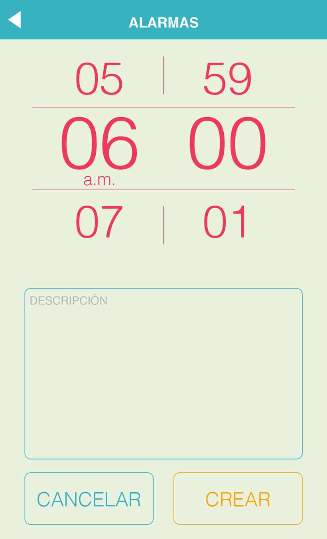 Maqueta gráfica para aplicación móvil 1