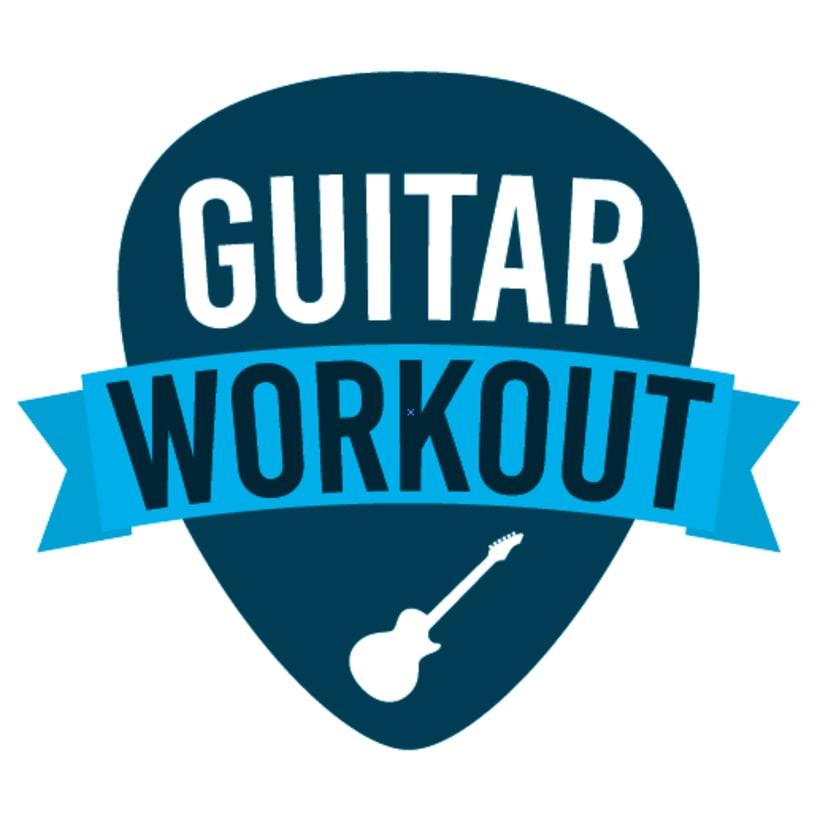 Diseño de logotipo y banner para Clases de Guitarra -1