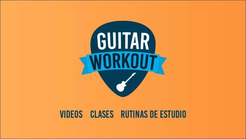 Diseño de logotipo y banner para Clases de Guitarra 0