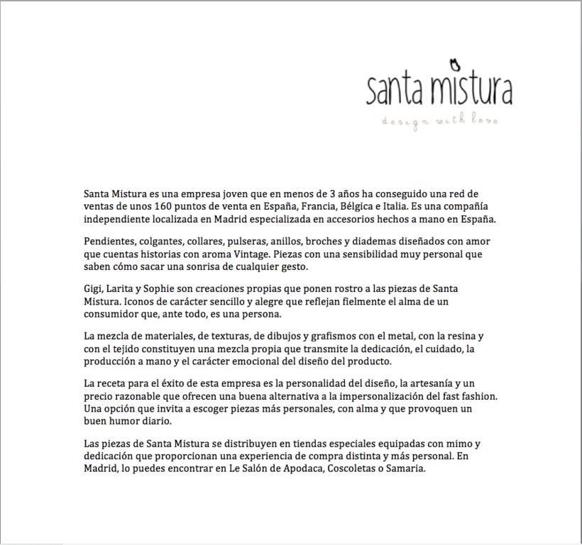 Graphic Design for Santa Mistura 1