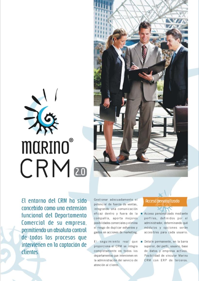 Catálogo software Marino CRM. 0