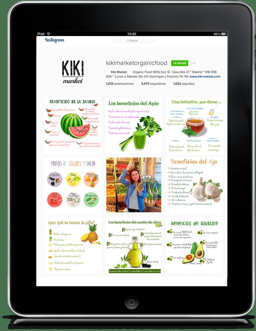 kiki Market - Estrategia de contenidos 0