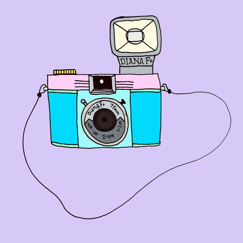 My soulmate, mi camera. -1
