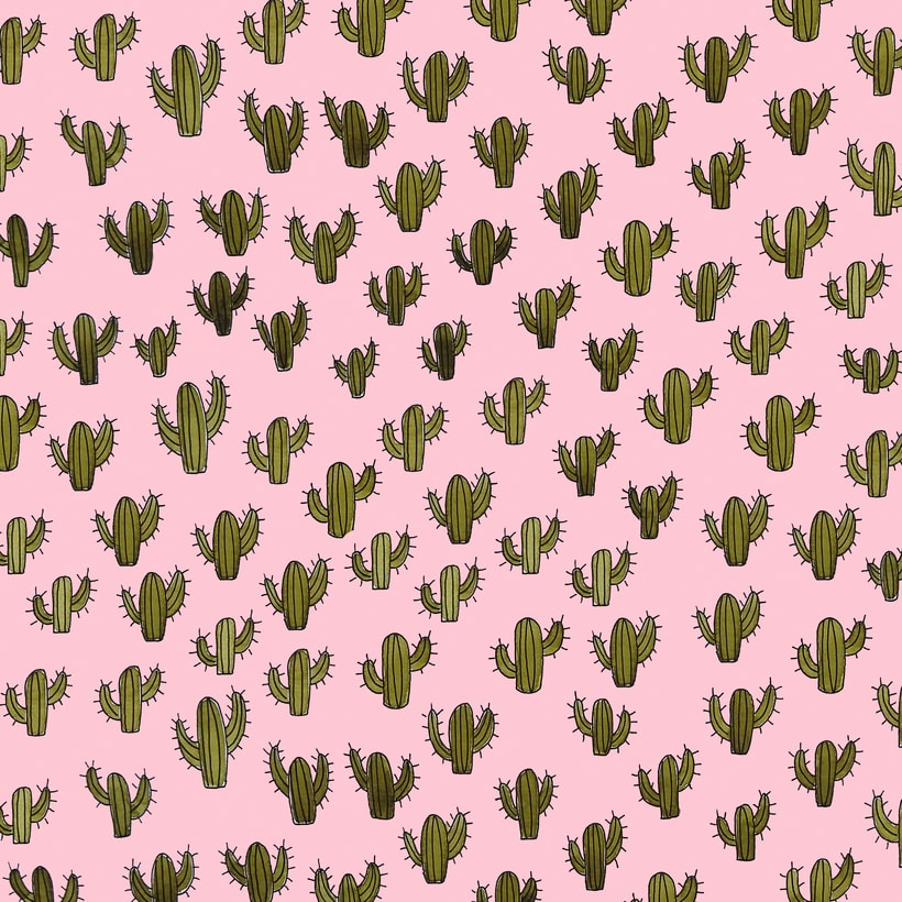 Cactus everywhere.  -1