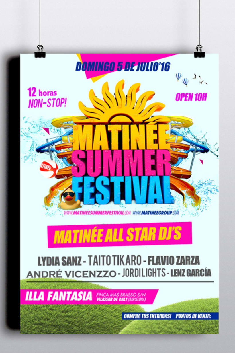Cartel Matinee Summer Festival 2