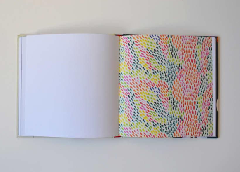 Publicación de estampados en el libro From rain to rainbows 4