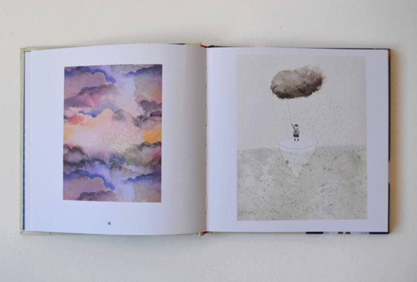 Publicación de estampados en el libro From rain to rainbows 6
