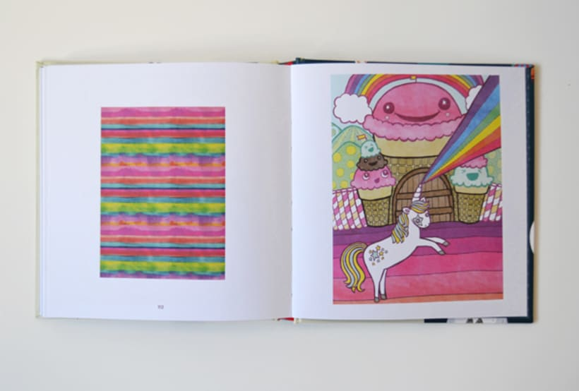Publicación de estampados en el libro From rain to rainbows 8