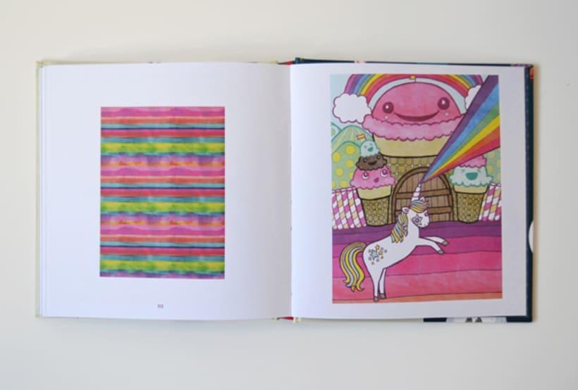 Publicación de estampados en el libro From rain to rainbows 8
