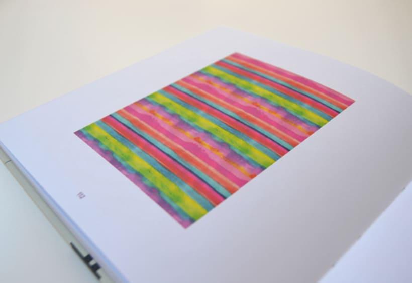 Publicación de estampados en el libro From rain to rainbows 9