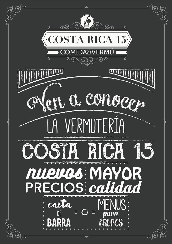 Logo Restaurante COSTA RICA 15 2
