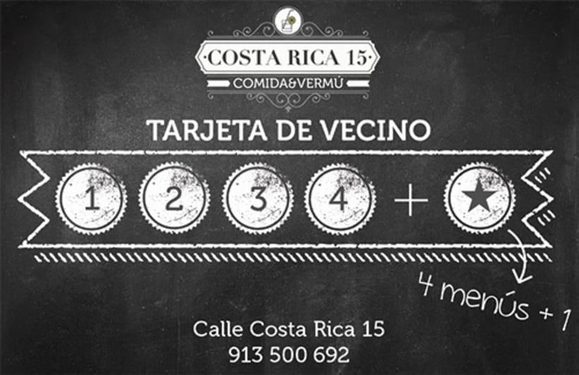 Logo Restaurante COSTA RICA 15 4