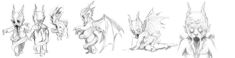 WIP (colección de sketches & Works in Progress) 0