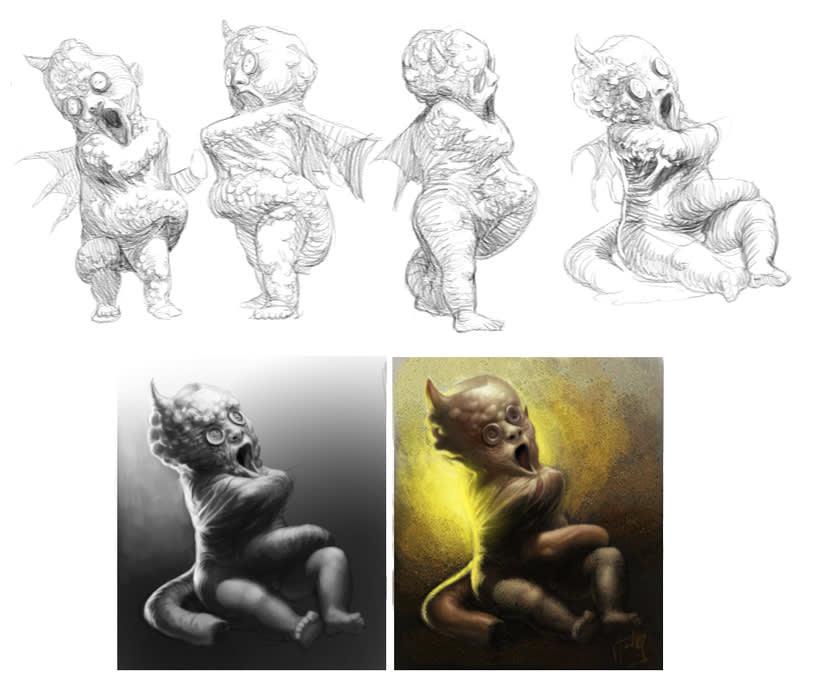 WIP (colección de sketches & Works in Progress) 1