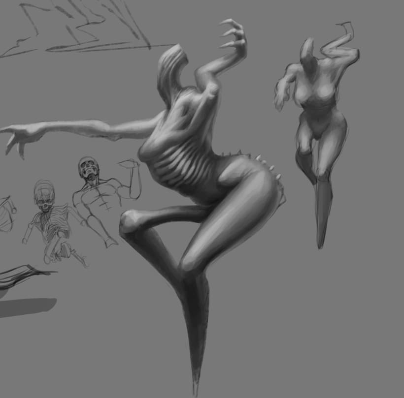 WIP (colección de sketches & Works in Progress) 2