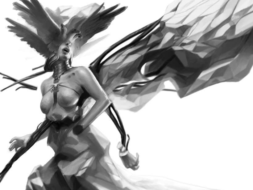 WIP (colección de sketches & Works in Progress) 7