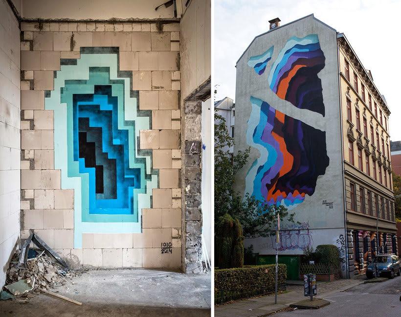 Portales urbanos y el artista detrás de ellos  4