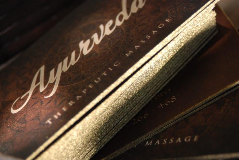 Brand - Personal Cards Ayurveda -1