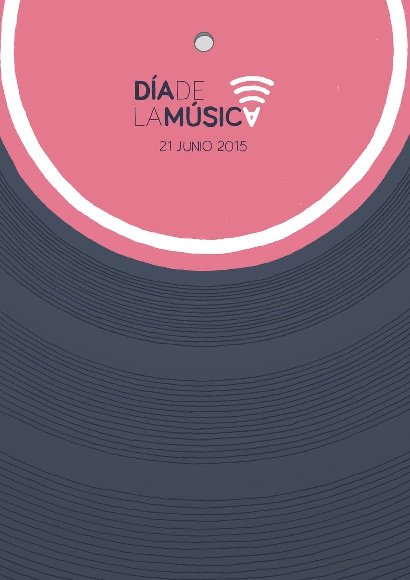 Poster y Logo- Día de la Música 1